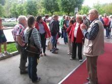 Radenci 2014: Prihod hrvaške delegacije laringektomiranih ( Foto: Č.Košak)