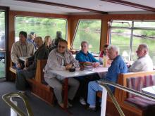 Trier 2010: Vožnja z ladjico po Moseli 1( Foto:Č.Košak)