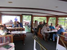Trier 2010: Vožnja z ladjico po Moseli 2 ( Foto: Č.Košak)
