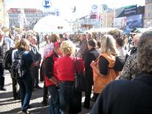 Zagreb in Samobor 2012: Na trgu Bana Jelačiča (Foto:Č. Košak)