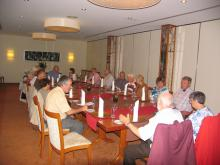 Trier 2011: Na slavnostni večerji ( Foto:Č. Košak)