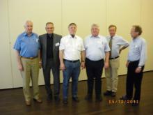 Člani novega predsedstva C.E.L-a ( Foto: S. Ribaš )